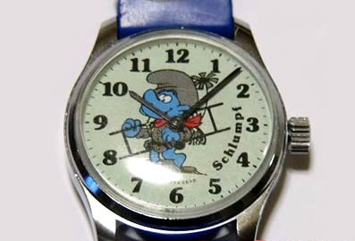 Smurfs_Watches_Chimney_Sweep_Smurf_Watch
