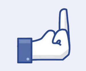 facebook-middle-finger