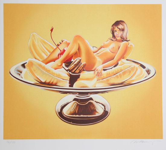 Mel_Ramos_Banana_Split_Sally_Duberson_158